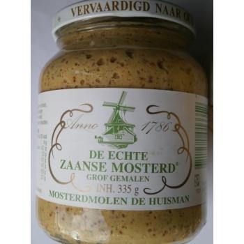 Zaanse mosterd, holandská hořčice, středně pálí. 335 gr.