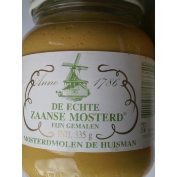 Zaanse mosterd, holandská hořčice, pálí. 335 gr.